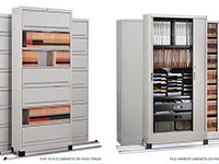 Filing and Organization Made Easy! We offer a wide variety of storage options to keep your office organized and efficiently operating at all times. Our products include Bookcases, Shelves, Lateral Files and Cabinets from leading brands like Steelcase, Knoll and Teknion. Please click the image to see more!