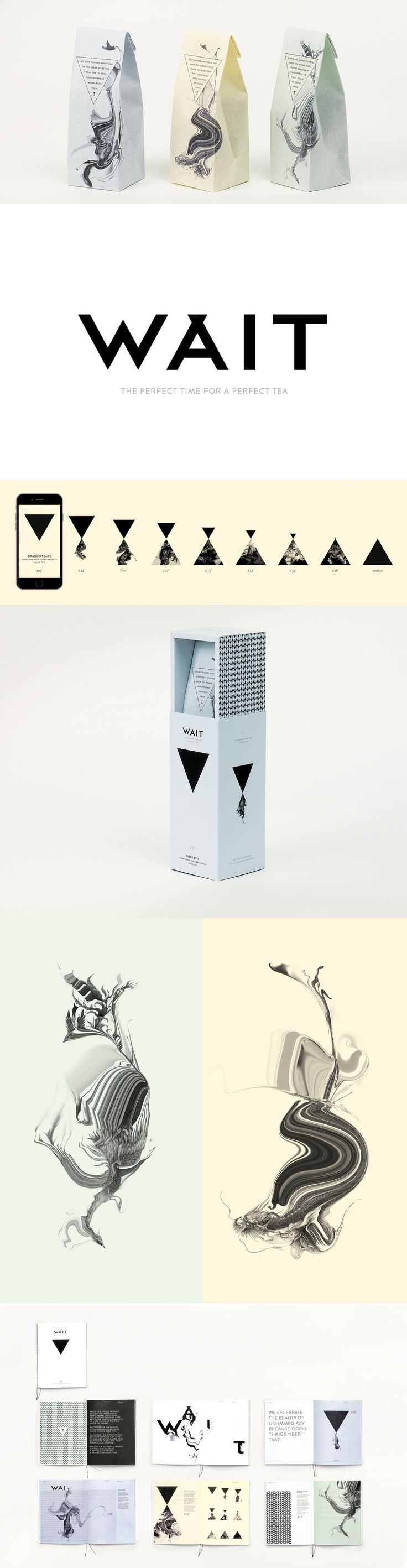 Wait Tea Packaging Design