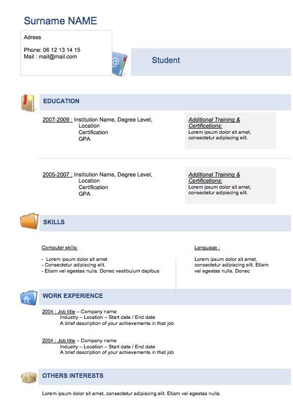 Best 25+ Student resume ideas on Pinterest Resume help, Cv - resume achievements