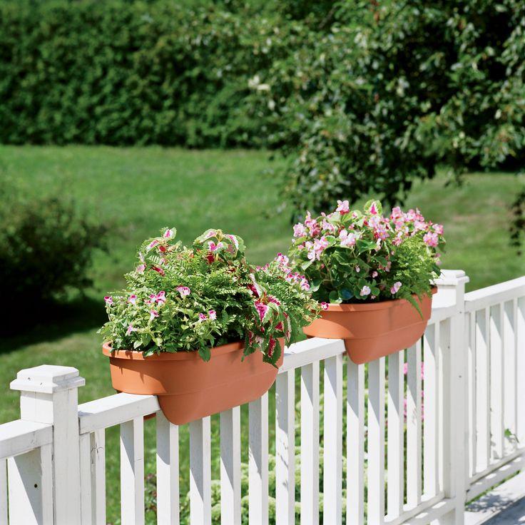 Deck Flower Box: 1000+ Ideas About Deck Railing Planters On Pinterest