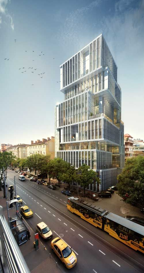 Sofia Tower Building, Bulgaria. Residential & Office Development I by Aedes…