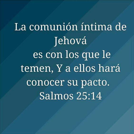 Salmos 25:14