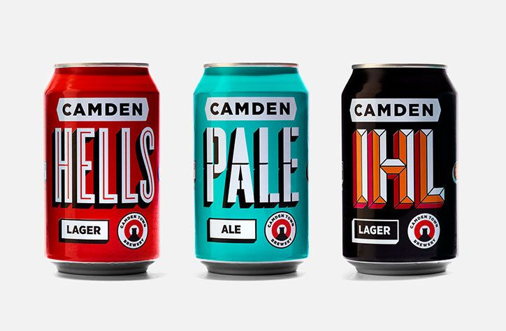 Studio Juice gives Camden Town Brewery a punchy new identity