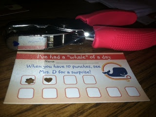 Vistaprint in the Classroom {Yes, Please!}..... punch cards for kids... works with older kiddos... and younger! Get them for free from Vistaprint!
