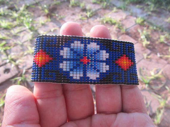 Etsy MAXICA etnik Meksika Sanatı Huichol beadwork