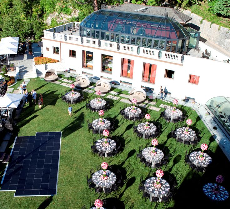 Wedding Gala set up
