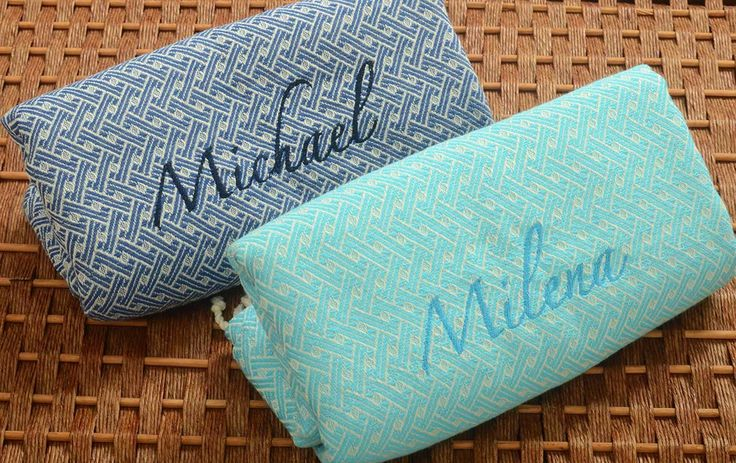 SALE %30 - Set of 2 Ephesus Peshtemals, Personalized Turkish Towel, Monogrammed, BLUE/TURQUOISE , Bachelorette Party, Tribal Towel, Fouta by NaturalSoft on Etsy https://www.etsy.com/listing/265078026/sale-30-set-of-2-ephesus-peshtemals