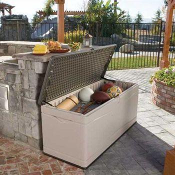 Costco Lifetime® 492 L Deck Box Outdoor Deck Storage 400 x 300