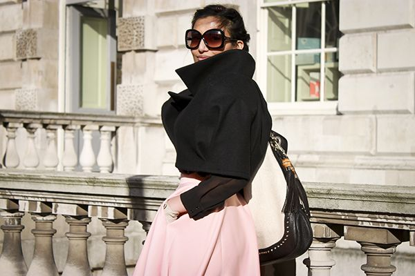 Name: Karishma Occupation: Editor What are you wearing? Aritzia Shirt, Happie Loves It Jacket, ASOS Skirt, Ron white Shoes