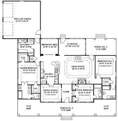 Classic Elegance and Two Master Bedrooms - 2533DH   1st Floor Master Suite, Corner Lot, European, PDF, Southern, Split Bedrooms, Traditional   Architectural Designs