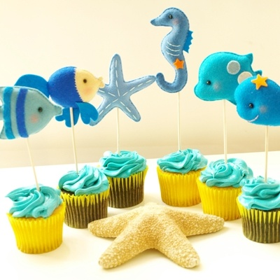 Under the Sea Party Topper
