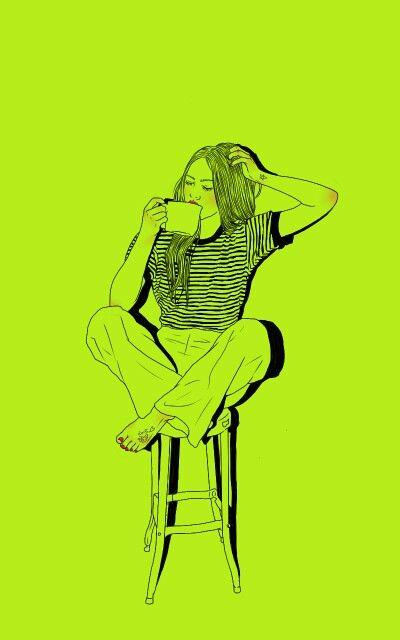 Http://blog.naver.com/sa_ranghae m.facebook.com/nanniyaa  #NanNi #난니 #그림그리는여자 #Art #아트 #그림 #수작업 #손그림 #illustration #illust #일러스트 #design #디자인 #sketch #스케치 #drawing #드로잉 #croquis #크로키 #artwork #love #follow #gorgeous #tattoo #yellowgreen