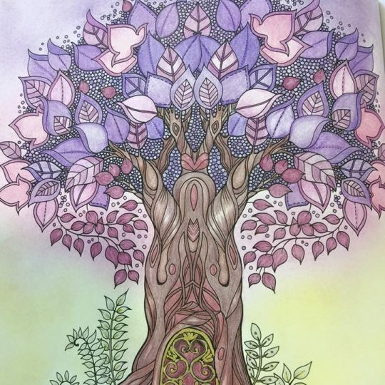 My Enchanted Forest Coloring Book Frog Page See More Johanna Basford