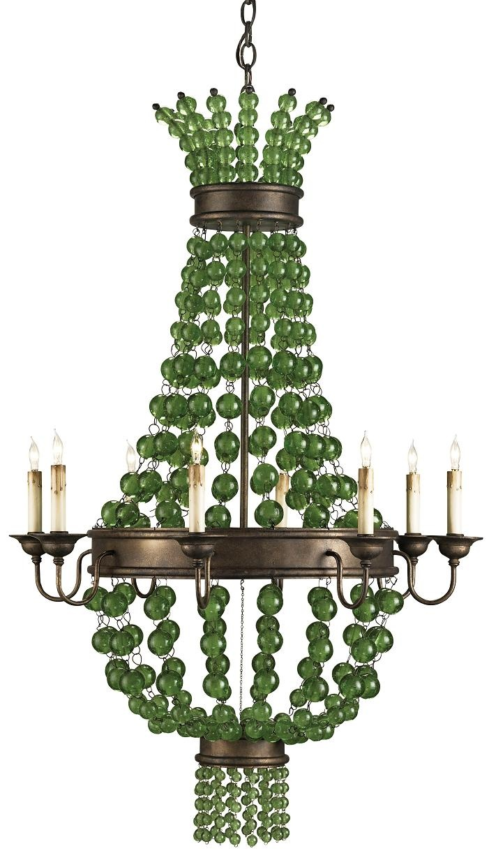 134 best chandeliers images on pinterest crystals crystal edison avenue st patricks day green chandeliers arubaitofo Images