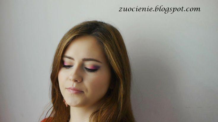 pink & purple summer makeup