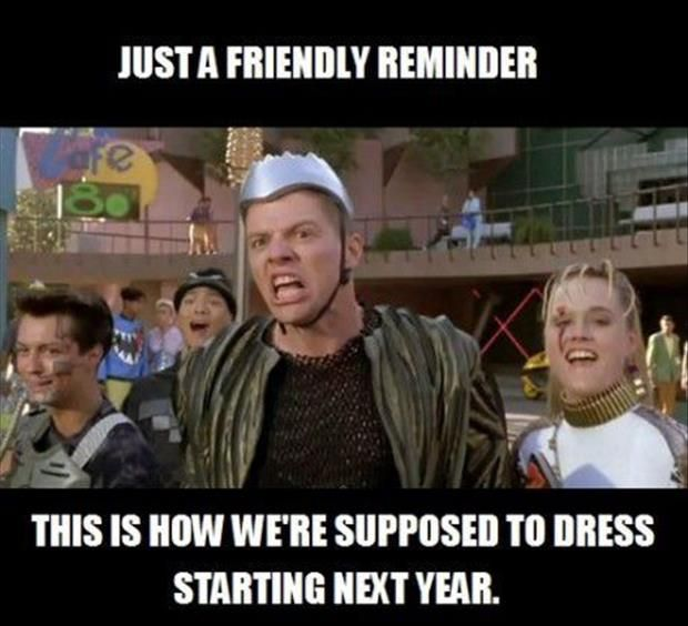 Get ready, 2015...can I shout out to the Westminster Kids: We should totally do this next year for Throwback Thursday.  Just saying.