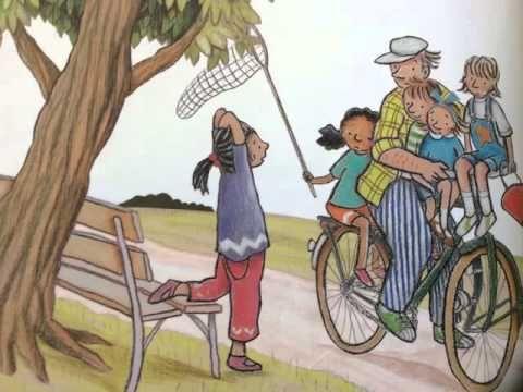 met opa op de fiets - YouTube