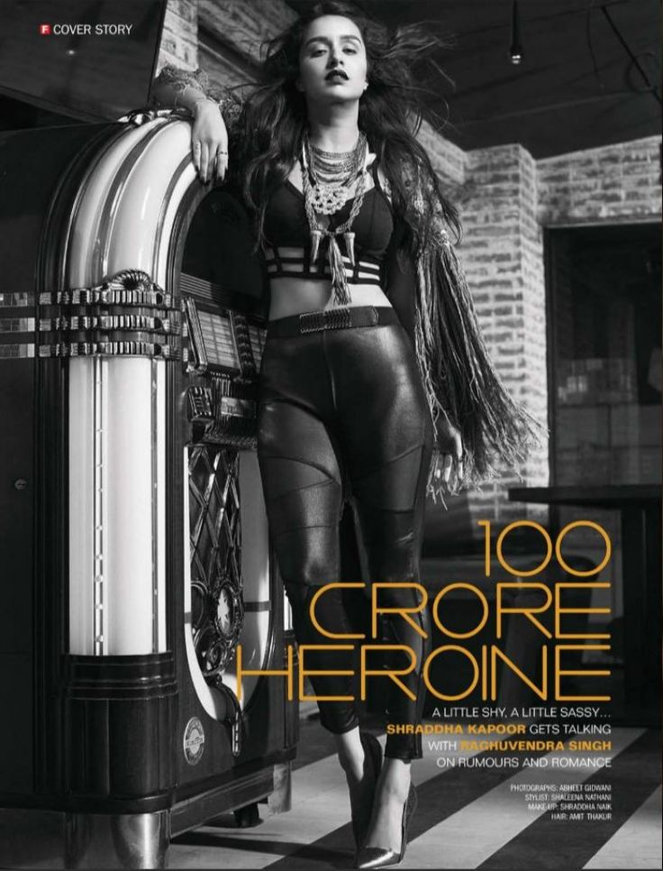 Golden Girl Shraddha Kapoor poses for the Filmfare Magazine June 2016 in #INTOTOs.  http://www.intoto.in/its-the-time-to-disco-19