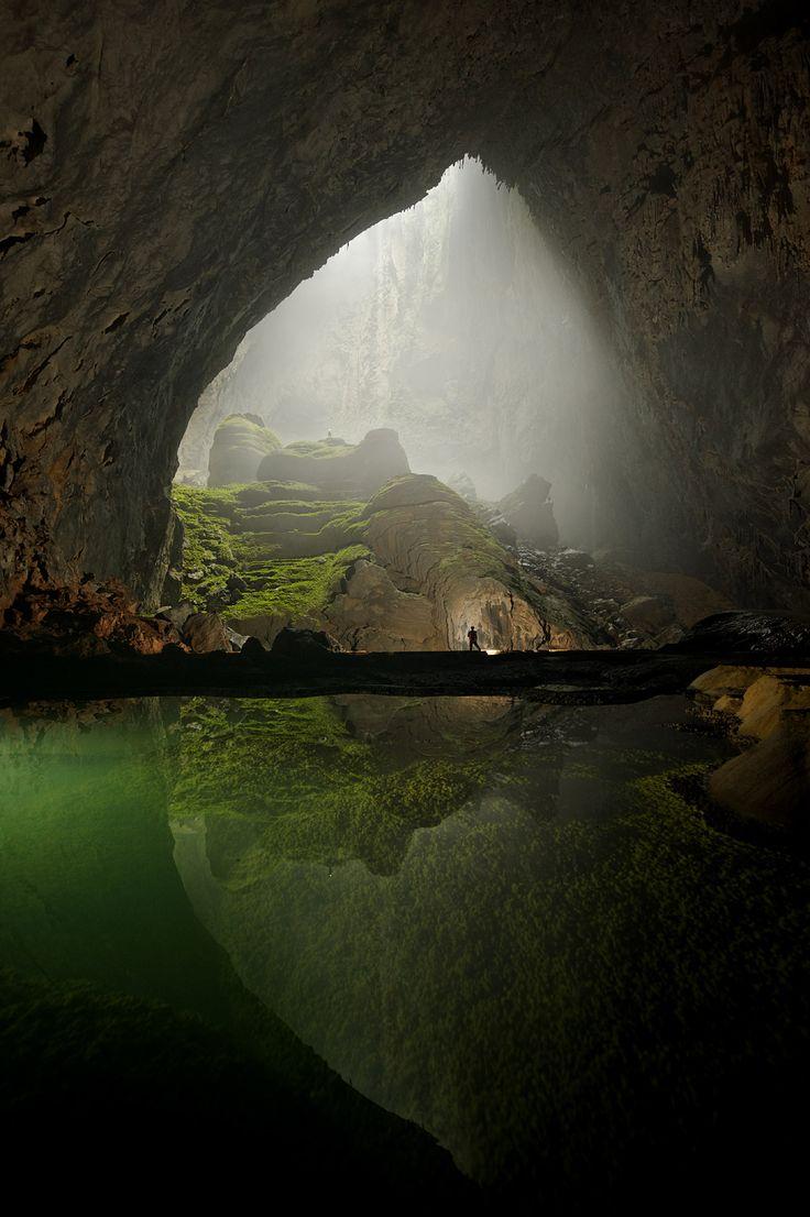 a maior caverna do mundo.