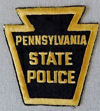 Old Style Pennsylvania State Police Patch
