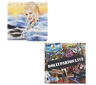 You can watch the whole QVC Live Session here:  Dolly Parton Blue Smoke CD & Dolly Parton Live CD. Click on the video at QVC