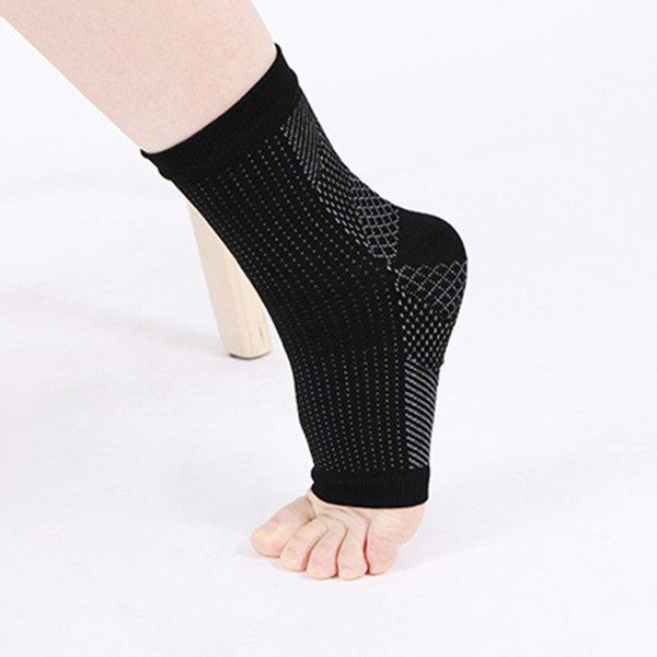 Mens Women Comfort Foot Anti Fatigue Compression Sleeve Relieve Swelling Varicosity Socks