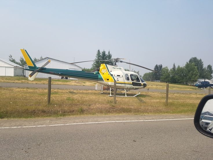 One of many, Helicopters helping to fight the Gustafson wildfire near 100 MILE House B.C.,B.C.wildfires 2017