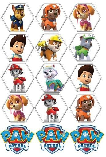 paw patrol cake topper 17 best ideas about paw patrol cupcake toppers on 6396