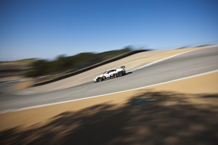 Laguna Seca - home to one of the most dramatic corners on any racetrack: the corkscrew.