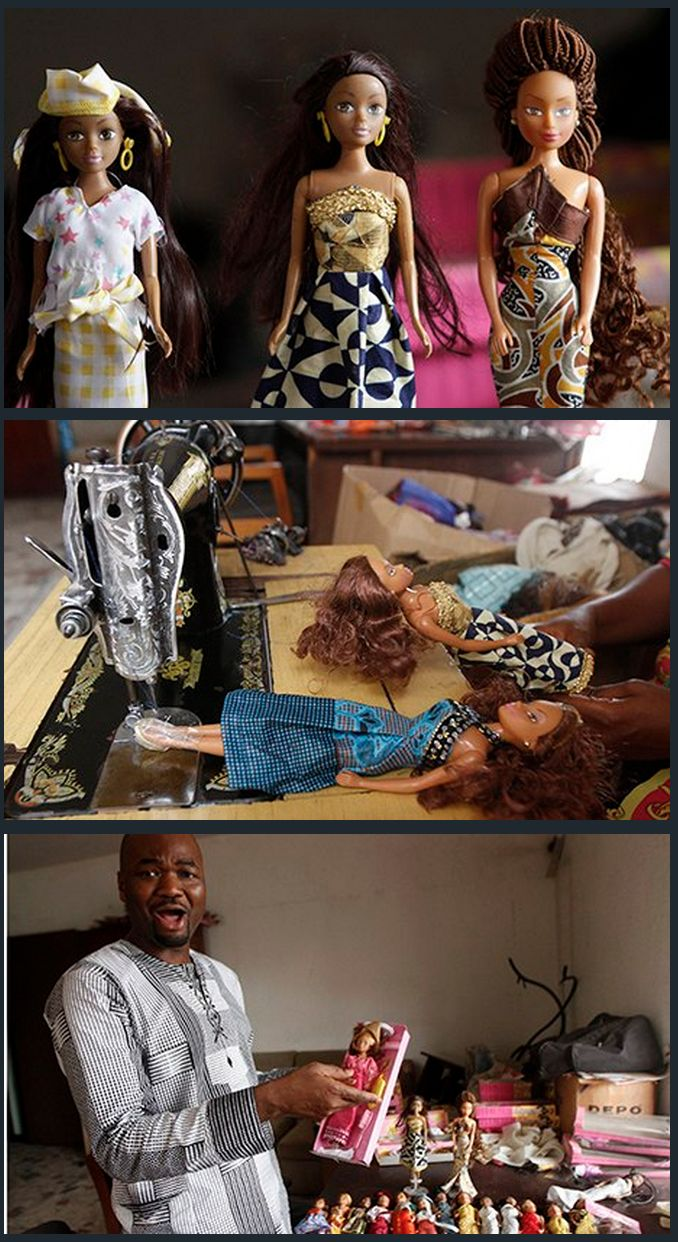 Taofick Okoya was dismayed when he could not find a black doll for his niece. The 43yo spotted a gap in the market and, with little competition from foreign firms such as the maker of Barbie, he set up his own business. The dolls represent Nigeria's three largest Ethnic Groups; Hausa, Igbo and Yoruba so far. 7 years on, Okoya sells between 6,000 and 9,000 of his Queens of Africa and Naija Princesses a month.