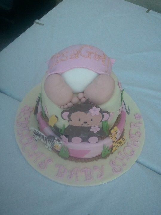 Baby Shower Cake - Safari Theme