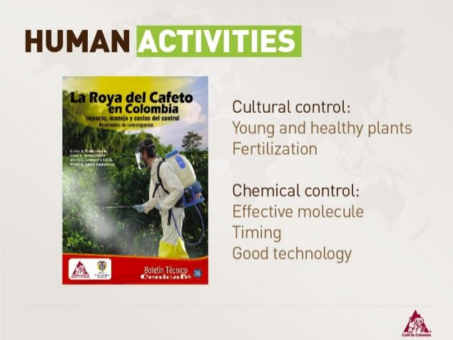 Human Control:  Cultutal Control - Chemical Control.  Send your questions using the hashtag #CCHLS on Twitter