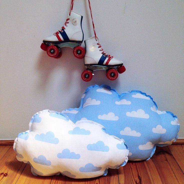 #clouds #pillows #vintage #rollerskates #boys