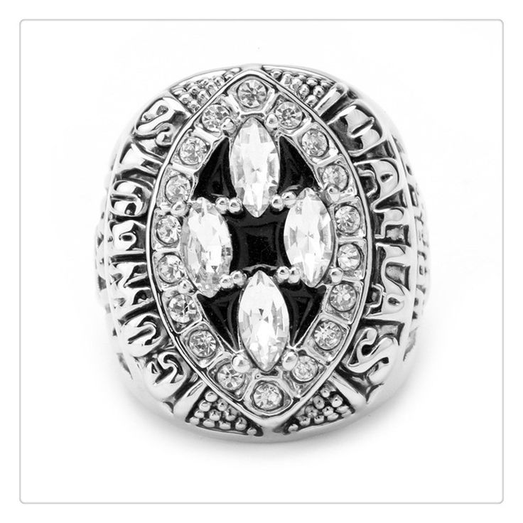Mans Large Stone NFL League Super Bowl Champion Ring Fashon Souvenirs Jewelry Men's Style 1994 Dallas Cowboys Championship Ring