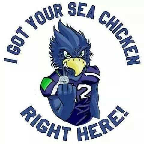 "Seahawks Expressions like ""SeaChickens"" & ""Bandwaggoners"" ..."