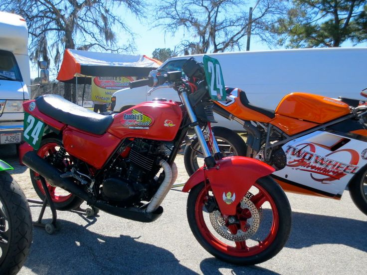 The 2014 AHRMA event at Roebling Road Raceway near Savannah, Georgia was the maiden outing for Chris Carr and this Honda VT500 Ascot. The bike won the Vintage Superbike Lightweight class championship in 2011 with Becky Baker aboard.