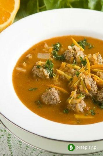 Mięsna zupa meksykańska #soup #dinner #homemade