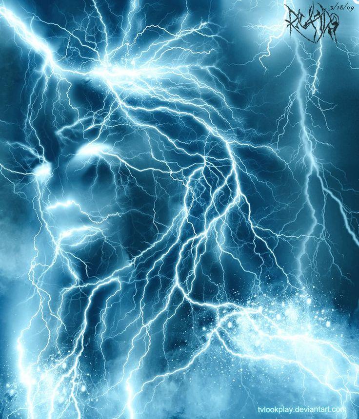 Magical Beings-Electric Elemental In 2019