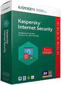 Kaspersky Internet Security 1Y v2017 3-Seat Standard