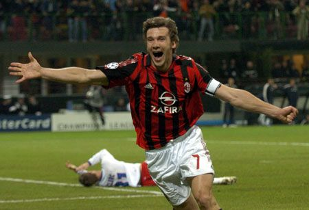 Andriy Shevchenko – Ex-Captain & The Best Milan Legend! My favorite football player!!! Because of him I began to love AC Milan!!! :)) <3