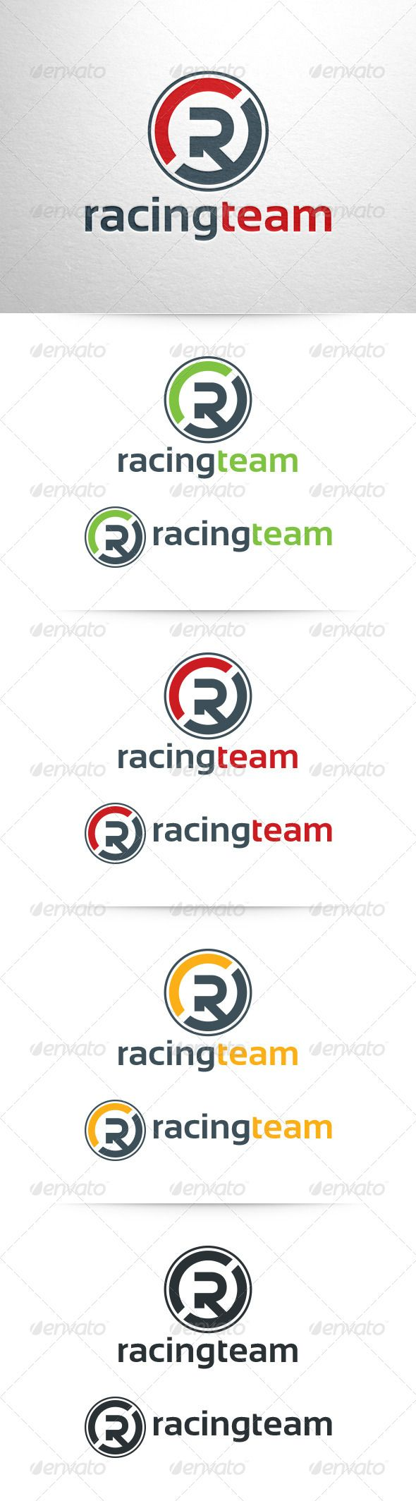 Racing Team Letter R - Logo Design Template Vector #logotype Download it here: http://graphicriver.net/item/racing-team-letter-r-logo-template/6459820?s_rank=1505?ref=nesto