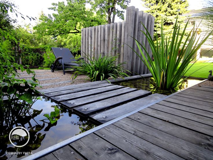 #landscape #architecture #garden #path #water #feature #chair #pond #resting #place