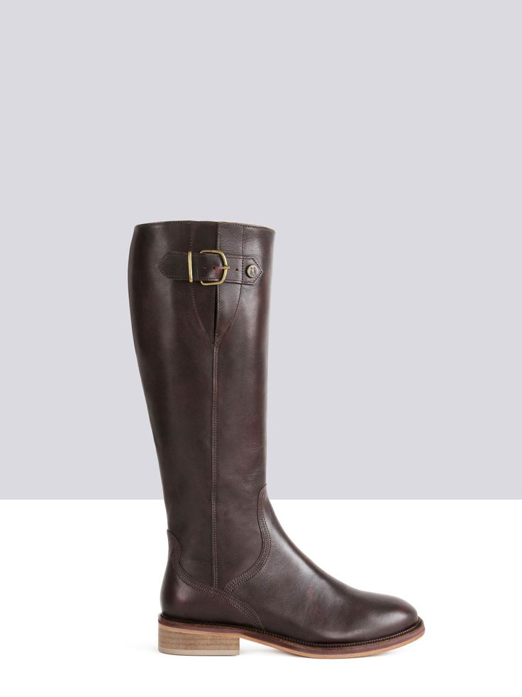 Joiners Marron Cuir bottes-femme small 1