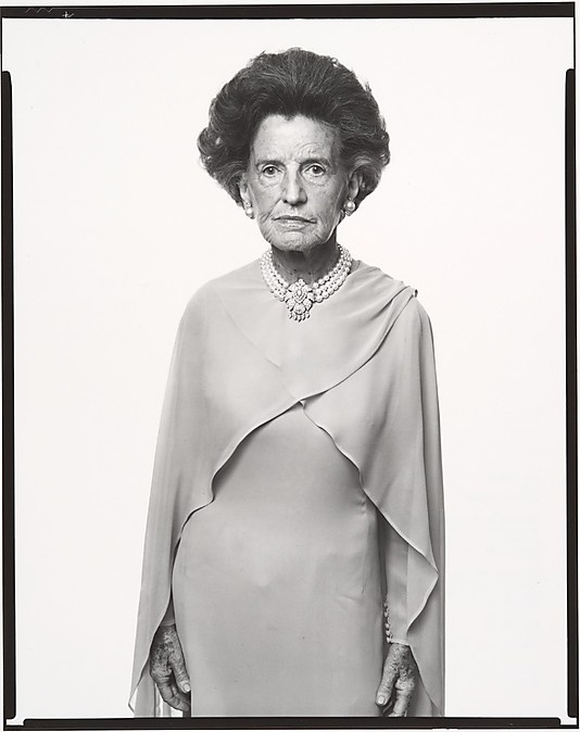 Rose Fitzgerald Kennedy, mother of President John F. Kennedy, Hyannisport, Massachusetts, September 2, 1976 Richard Avedon (American, New York City 1923–2004 San Antonio, Texas) Person in photograph: Rose Fitzgerald Kennedy Date: 1976