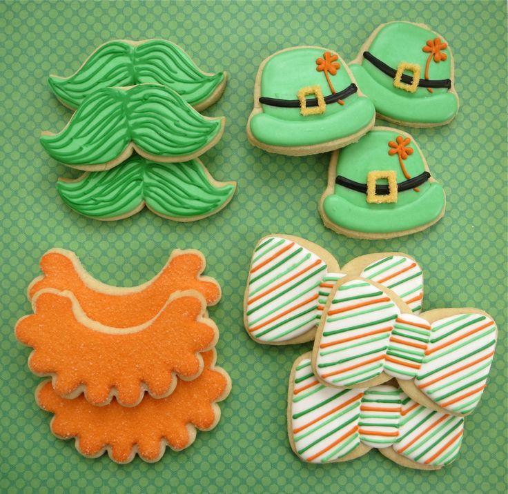 St. Patrick's Day Cookies by Melissa Joy Cookies