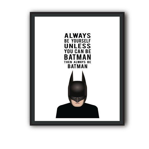 Batman QuotesBatman Poster Batman Quote Batman by eDesignSolutions