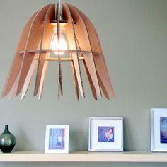 fabriquer un luminaire design en carton patron pdf t l chargeable imm diatement art for me. Black Bedroom Furniture Sets. Home Design Ideas