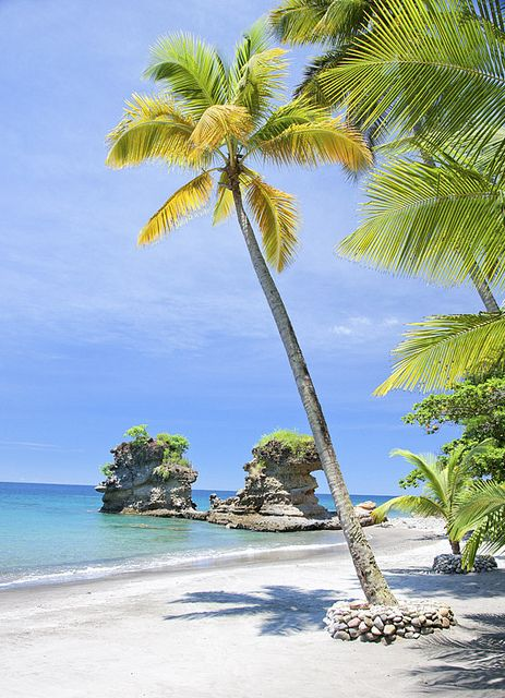 Anse Mamin Beach at Anse Chastanet and Jade Mountain Resorts Saint Lucia, Caribbean