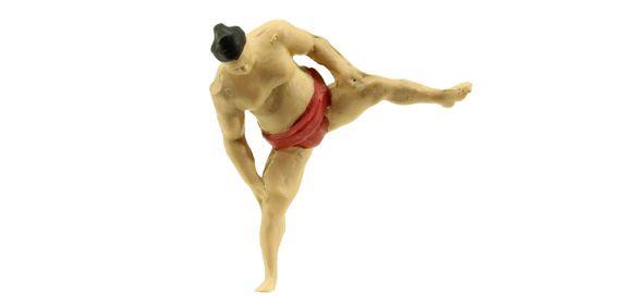 Preiser 29005 Physiques Sonstige Personen Sumo wrestler Spur H0 - メルクリン・フライシュマン・PIKO・ROCO・海外欧州鉄道模型通販【ワールド・トレイン】