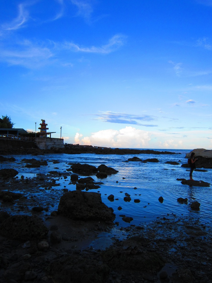 Seacoast in Taitung County